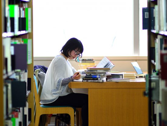 OSIPP-Osaka-University-library-studying