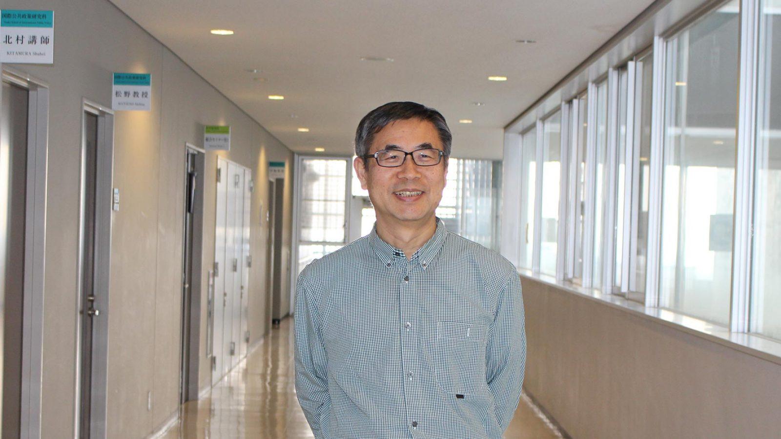 OSIPP-professor-Matsuno-dean