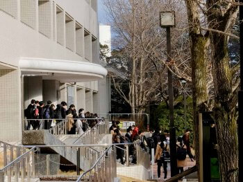 Osaka University Toyonaka Campus Winter OSIPP