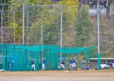 Baseball batting, Toyonaka Campus