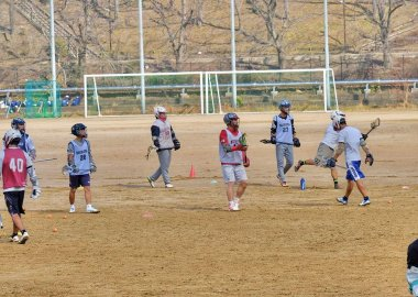Men's Lacrosse at Toyonaka Campus