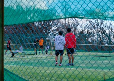 Tennis Club at Toyonaka Campus