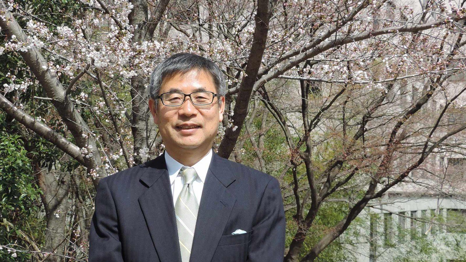 大阪大学大学院国際公共政策研究科長 松野 明久