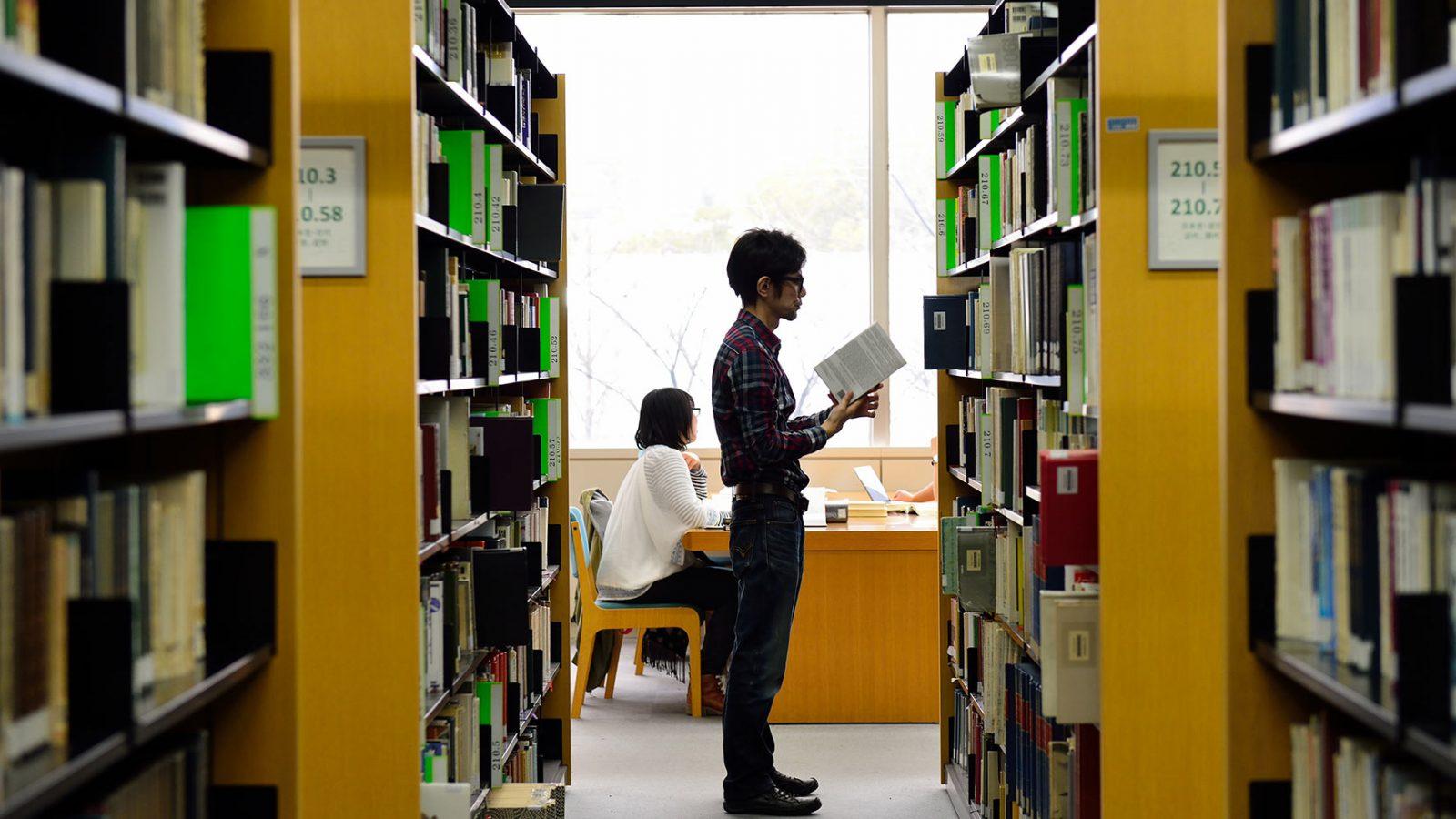 Osaka-University-main-library
