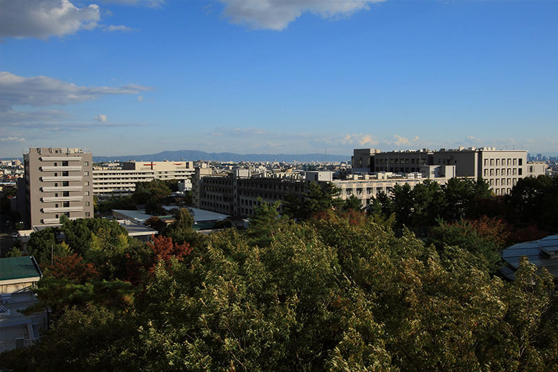 Toyonaka-Campus-sky-view