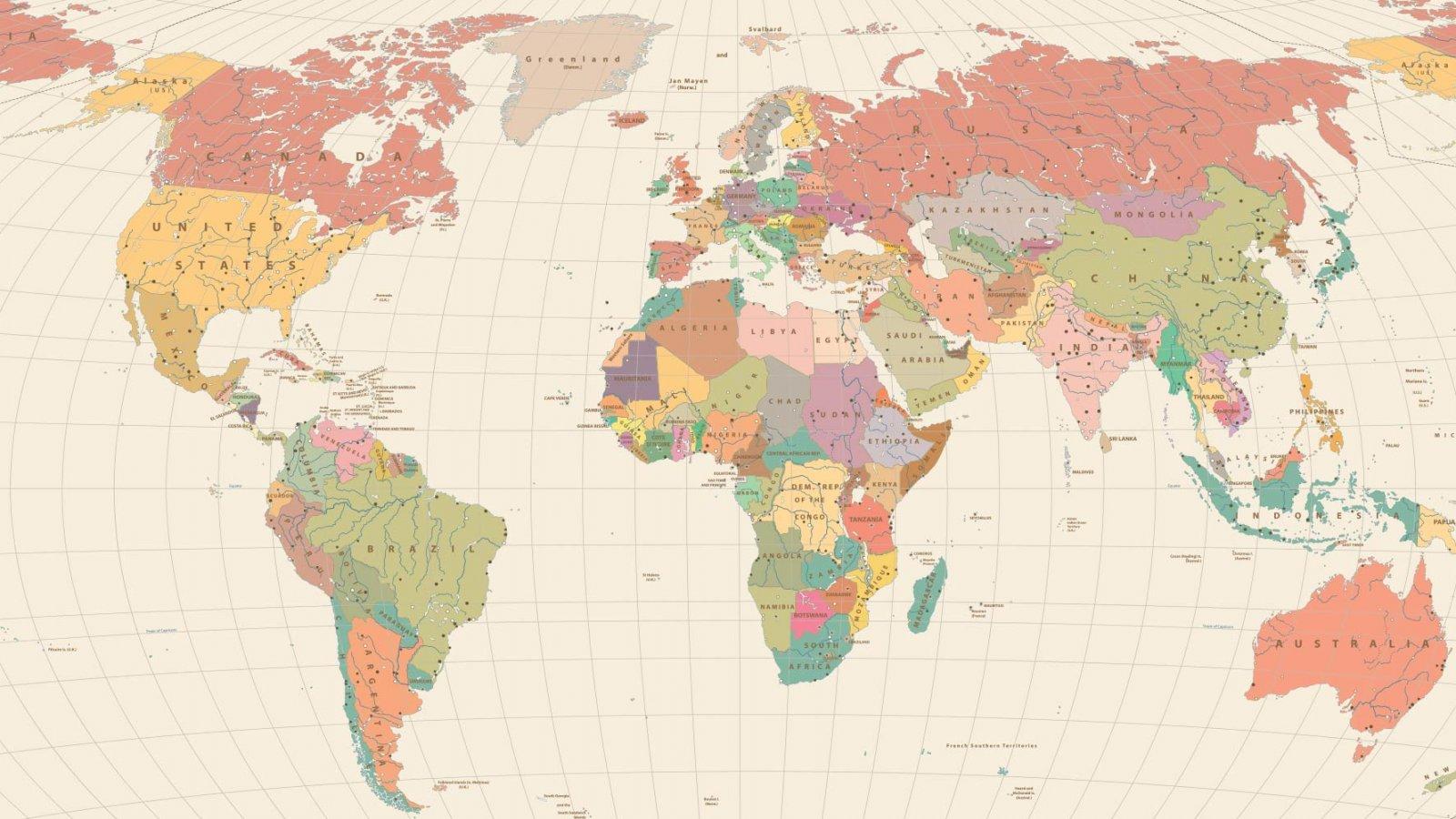 OSIPP Osaka University international world map