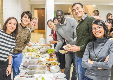 International Food Party for OSIPP students