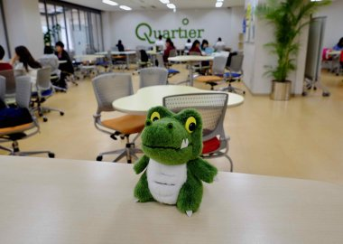 Study spot: The Quartier Cafe, Toyonaka Campus