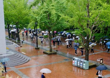 Rainy Day Toyonaka Campus