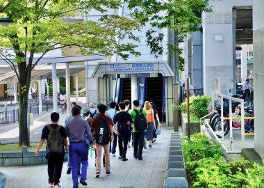 Osaka Monorail serves Toyonaka Campus